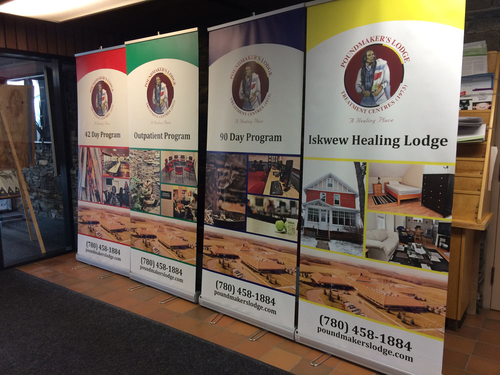 Trade Show Booth Edmonton : Banners for trade show displays plastic banners wide format